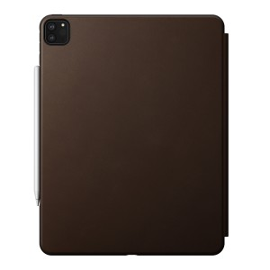 Nomad Rugged Folio iPad Pro 12.9 inch (4th Gen) Brown Leather