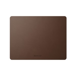 Nomad Mousepad Rustic Brown Leather 13-Inch