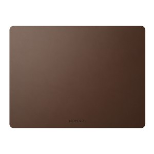 Nomad Mousepad Rustic Brown Leather 16-Inch