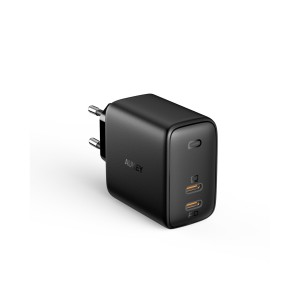 AUKEY USB-C Omina 65W Dual-Port PD Wall charger PA-B4