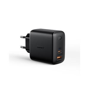 AUKEY USB-C + USB-A Omina 65W Dual-Port PD Wall charger PA-B3