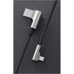 AUKEY Cable USB-A Lightning blk 1,2m 90 Grad Connector CB-BAL6