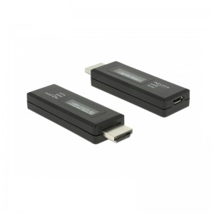 Delock HDMI Tester für EDID Information mit OLED Anzeige