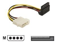 Delock Kabel Power SATA HDD > 4 Pin Stecker