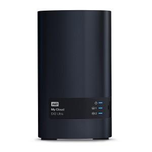 WD My Cloud EX2 Ultra NAS 16TB personal cloud stor. incl WD RED Drives 2-bay Dual Gigabit Ethernet 1,3GHz CPU DNLA RAID1 NAS RTL
