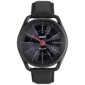 What Calendar Watch Gunmetal Black