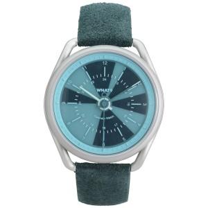 What Calendar Watch Aqua Blue