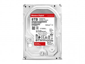 WD Red 8TB SATA 6Gb/s 256MB Cache Internal 8,9cm 3,5Zoll 24x7 5400Rpm optimized for SOHO NAS systems 1-8 Bay HDD Bulk