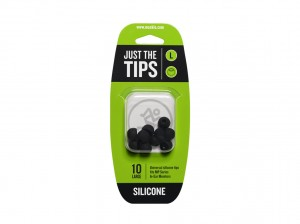 Mackie MP & CR Buds Large Silicone Black Tips Kit