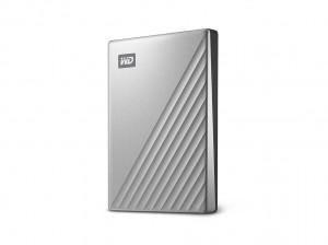 "WD 6,4cm(2,5"") 1TB My Passport Ultra USB-C silber"