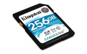 KINGSTON 256GB SDHC Canvas GO!