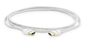 LMP HDMI Kabel, HDMI 2.0 weiß, 2m