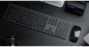 LMP kabelgebundene USB Tastatur space grau, ES