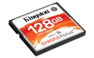 KINGSTON 128GB CANVAS FOCUS CF-Card