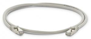LMP Ethernet Patchkabel 10GbE grau, 1m