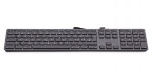LMP kabelgebundene USB Tastatur space grau, SK