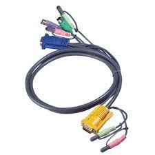 ATEN 2L-5303P KVM Kabelsatz, PS/2, Audio, Länge 3m