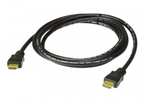 ATEN 2L-7D02H-1 HDMI Kabel, HDMI-High Speed mit Ethernet, 2m