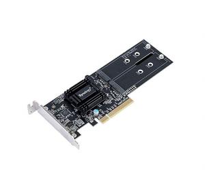SYNOLOGY Dual M.2 SATA/NVMe SSD-Adapterkarte SSD-Cache