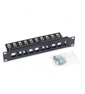 "10"" Patchpanel, Triton RAB-PP-X03-C1, Leerblech für max. 10 Keystone-Module, schwarz"