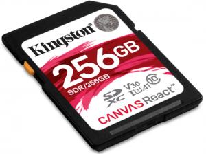 KINGSTON 256GB SD Karte Canvas React 4K