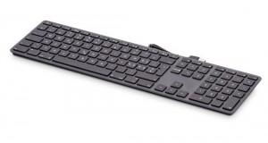 LMP kabelgebundene USB Tastatur space grau, NL