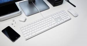 LMP kabelgebundene USB Tastatur silber, IT