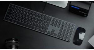 LMP kabelgebundene USB Tastatur space grau, CH