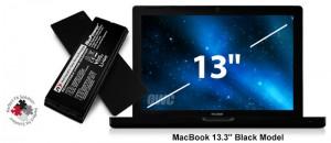 """NuPower 60 Wh Batterie für MacBook 13,3"""" (hergestellt 2006-2"""