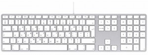LMP kabelgebundene USB Tastatur silber, GR