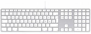 LMP Bluetooth Tastatur silber, DE