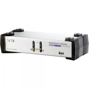 ATEN CS1742C KVM-Switch 2-fach, USB, mit Audio, Dual View