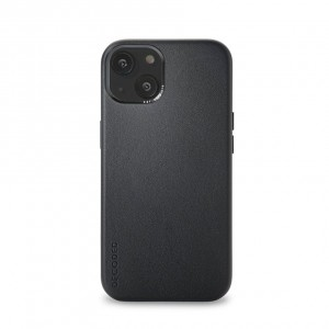 Decoded Leather Backcover iPhone 13 Black