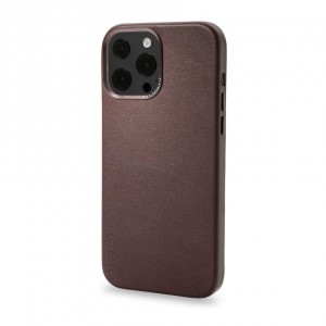 Decoded Leather Backcover iPhone 13 Pro Brown