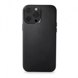 Decoded Leather Backcover iPhone 13 Pro Max  Black