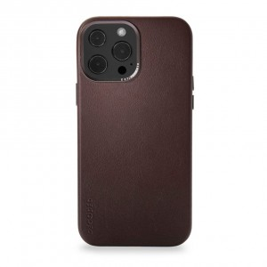 Decoded Leather Backcover iPhone 13 Pro Max  Brown