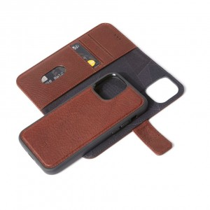 Decoded Leather Detachable Wallet iPhone 13 mini 5.4 Brown