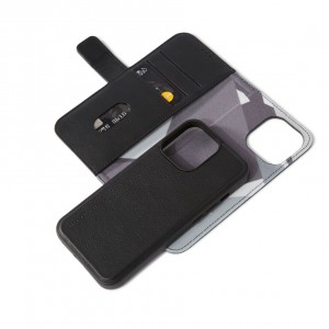 Decoded Leather Detachable Wallet iPhone 13 Pro  Black