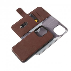 Decoded Leather Detachable Wallet iPhone 13 Pro  Brown