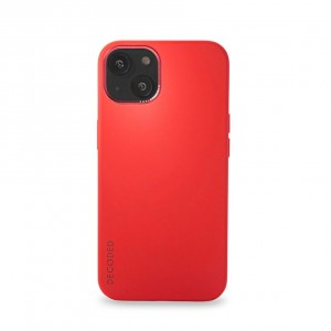 Decoded Silicone Backcover iPhone 13 Brick Red