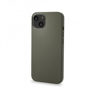 Decoded Silicone Backcover iPhone 13 Olive