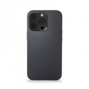 Decoded Silicone Backcover iPhone 13 Pro Charcoal