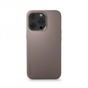 Decoded Silicone Backcover iPhone 13 Pro  Dark Taupe