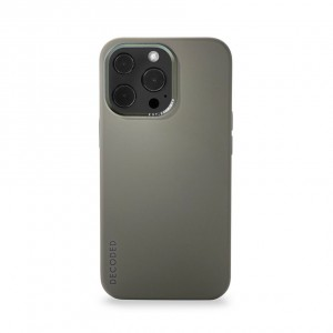 Decoded Silicone Backcover iPhone 13 Pro Olive