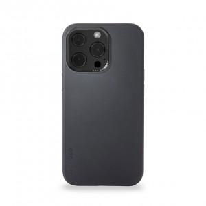 Decoded Silicone Backcover iPhone Pro Max Charcoal