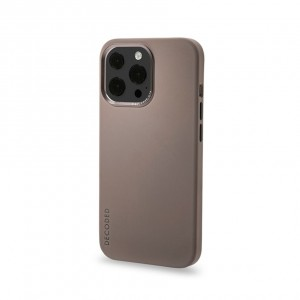 Decoded Silicone Backcover iPhone 13 Pro Max  Dark Taupe