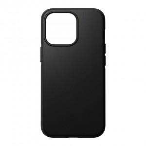 Nomad Modern Case Black Leather MagSafe iPhone 13 Pro