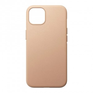 Nomad Modern Case Natural Leather MagSafe iPhone 13