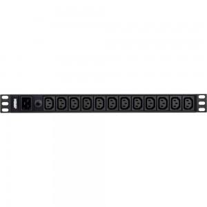 ATEN PE0212G Stromverteilung 1HE 16A 12-Port IEC-C13 Basic PDU