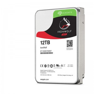 "SEAGATE IronWolf NAS HDD 12TB 3.5"" 7200rpm 256MB"